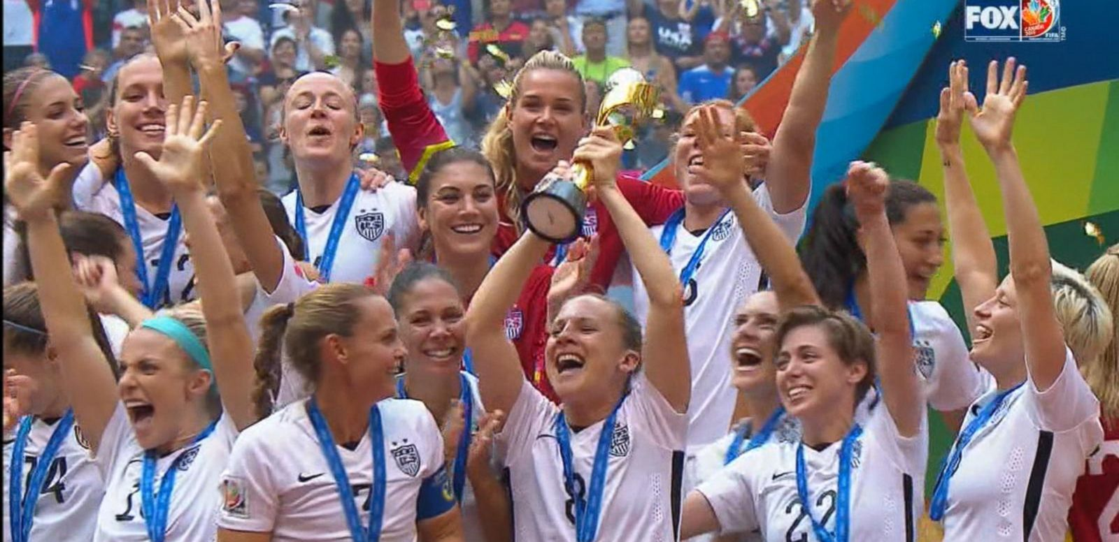VIDEO: Team USA Beats Japan in Women's World Cup Final