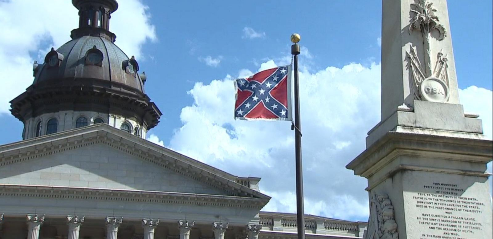 VIDEO: South Carolina Senators Vote to Remove Confederate Flag From Capitol Grounds