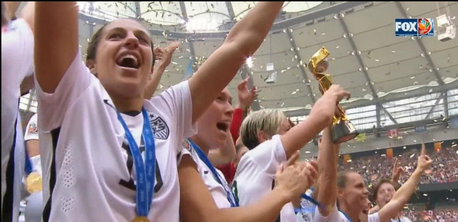 VIDEO: Team USA World Cup Victory Highlights Equal Pay Issue