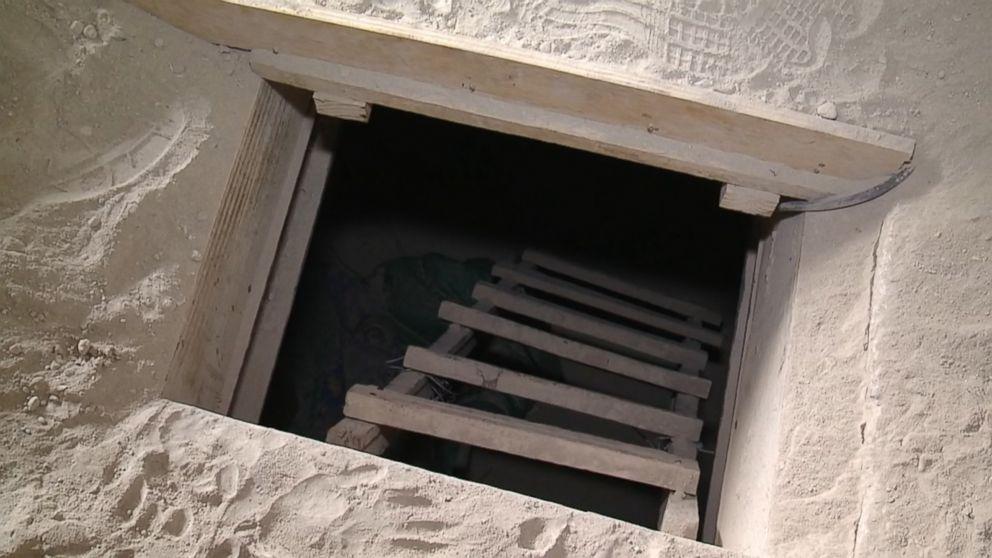 inside the tunnel  u0026 39 el chapo u0026 39  used for daring escape video