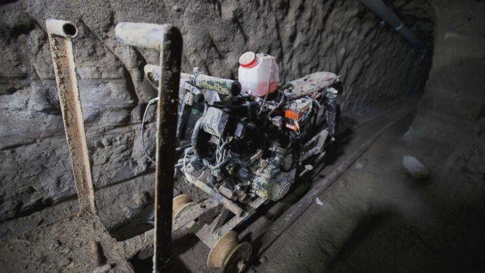 go inside escape tunnel  u0026 39 el chapo u0026 39  used for 2nd daring