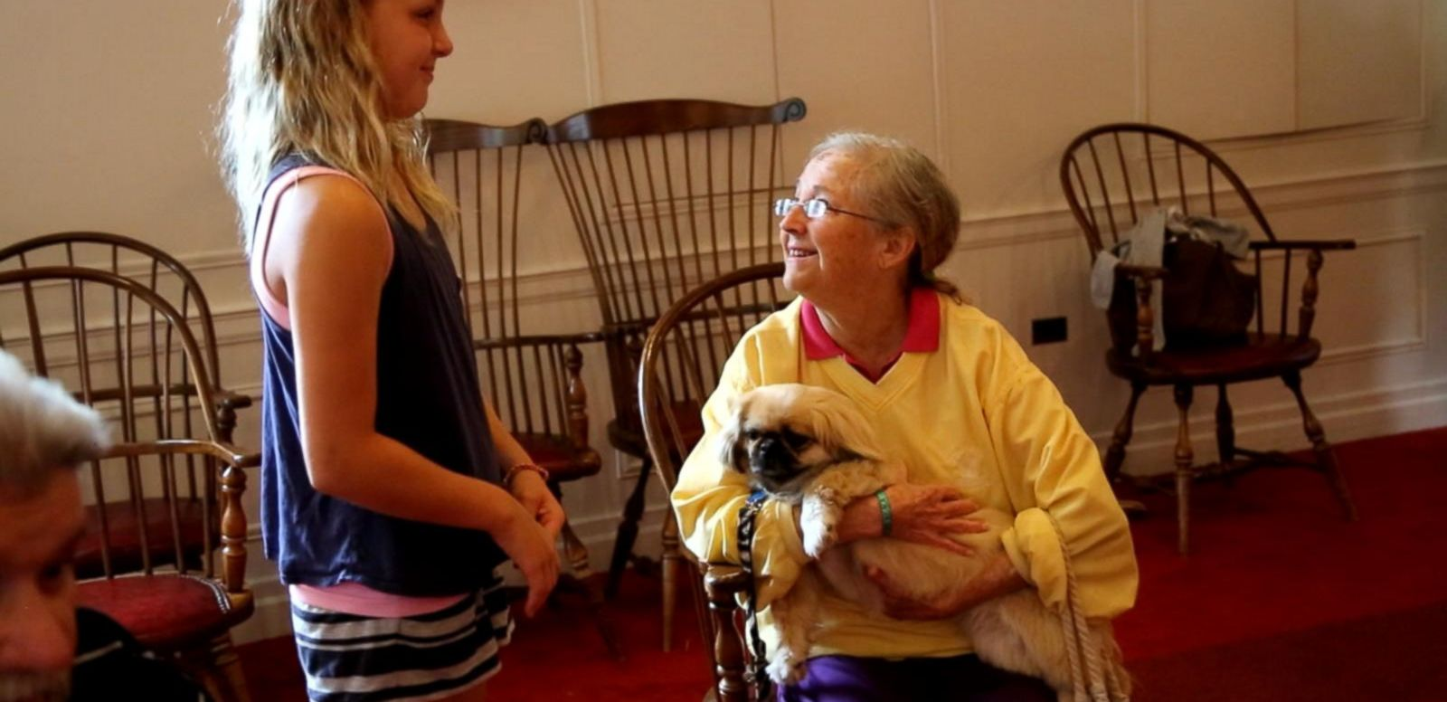 VIDEO: How Pet Therapy Emotionally, Physically Benefits Nursing Home Residents