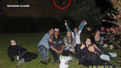 VIDEO: The photograph, taken on a digital camera in 2010, shows a mysterious figure in the background.