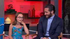 VIDEO: Jake Gyllenhaals Fatherly Role in Latest Film
