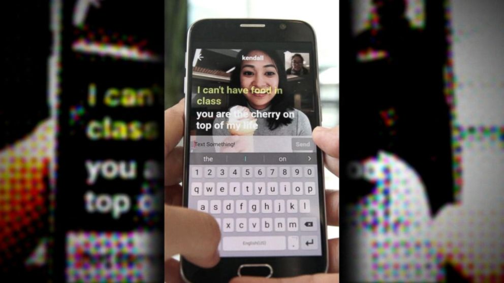 yahoo unveils new livetext app on gma video   abc news