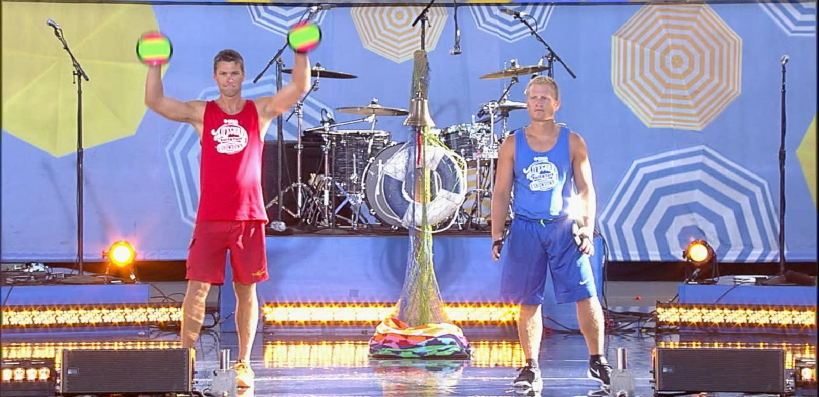 VIDEO: The 'GMA' Lifeguard Surf and Turf Showdown Finale