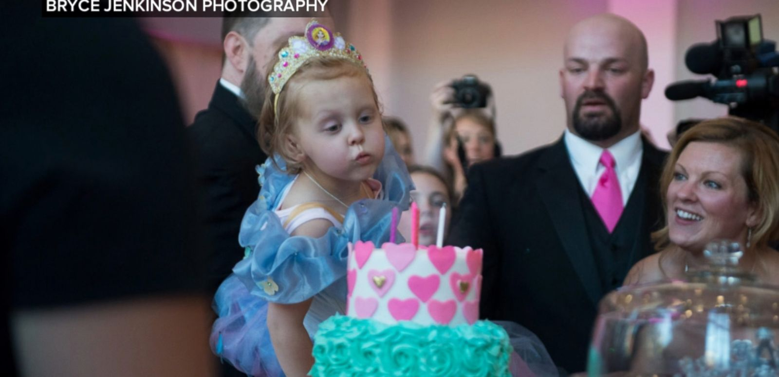 VIDEO: Lila May Schow has been battling stage 4 neuroblastoma since the age of 2.