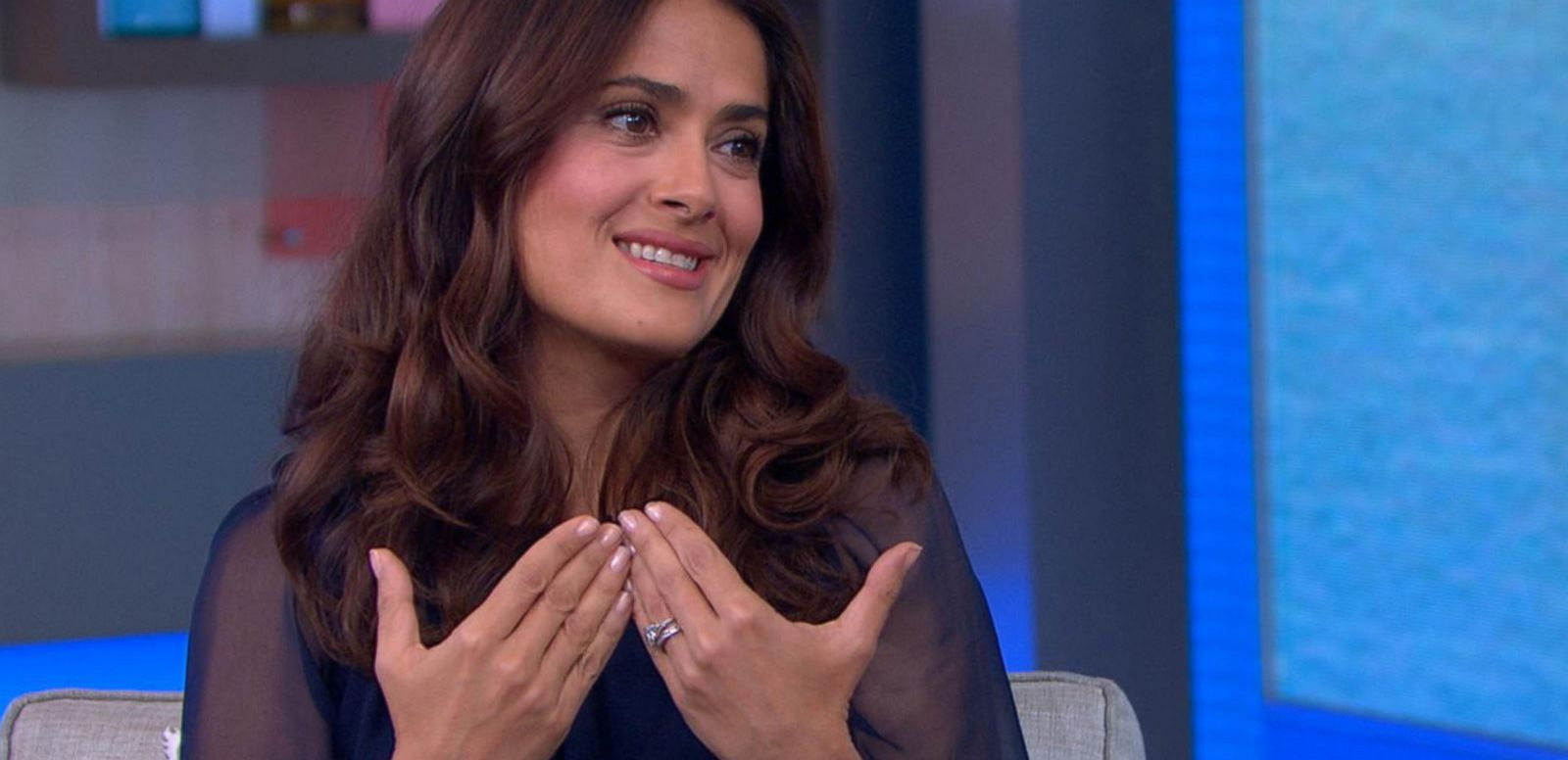 VIDEO: Salma Hayek Lends Her Voice to Animated Film 'The Prophet'