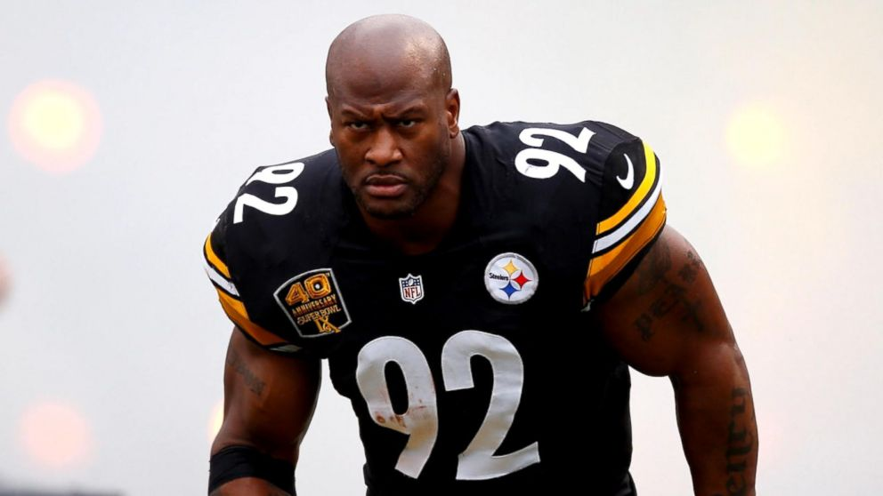 Pittsburgh Steelers Linebacker James Harrison Was Not Allowed to ...
