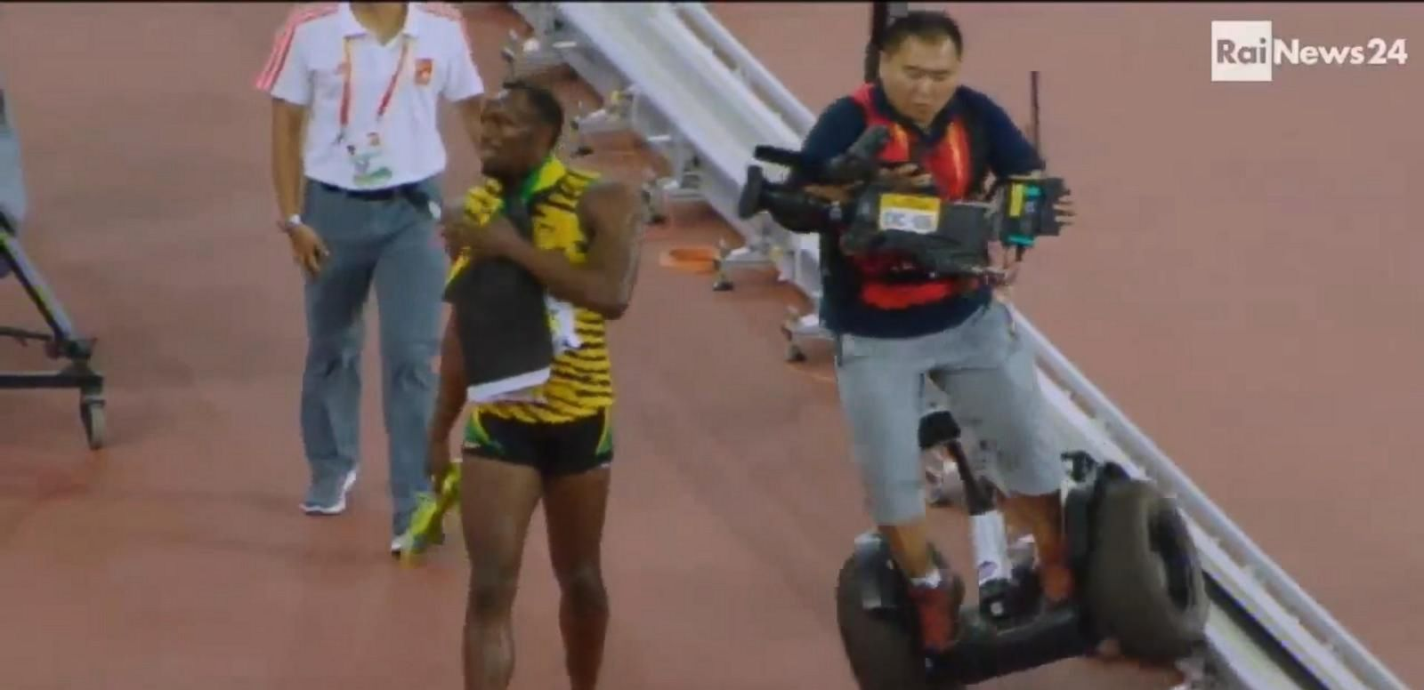 VIDEO: Usain Bolt on Segway Tumble: 'I'm A Little Bit Sore, But I'm Okay'