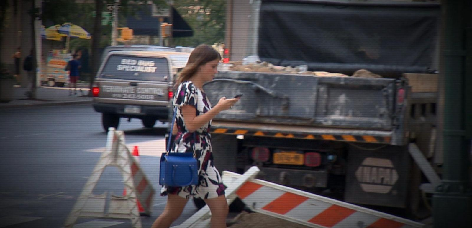 VIDEO: New Research Finds Rise in Injuries Caused by Walking and Texting