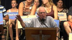 GMA 08/31/15: Iowa Poll Shows Bernie Sanders Gaining Ground Against Hillary Clinton