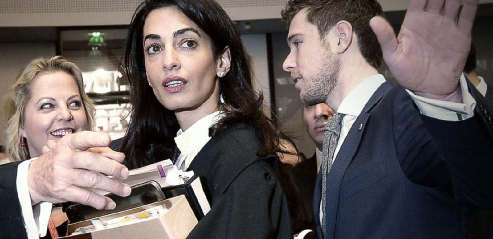 VIDEO: Amal Clooney Blasts Egyptian Government Over Ruling