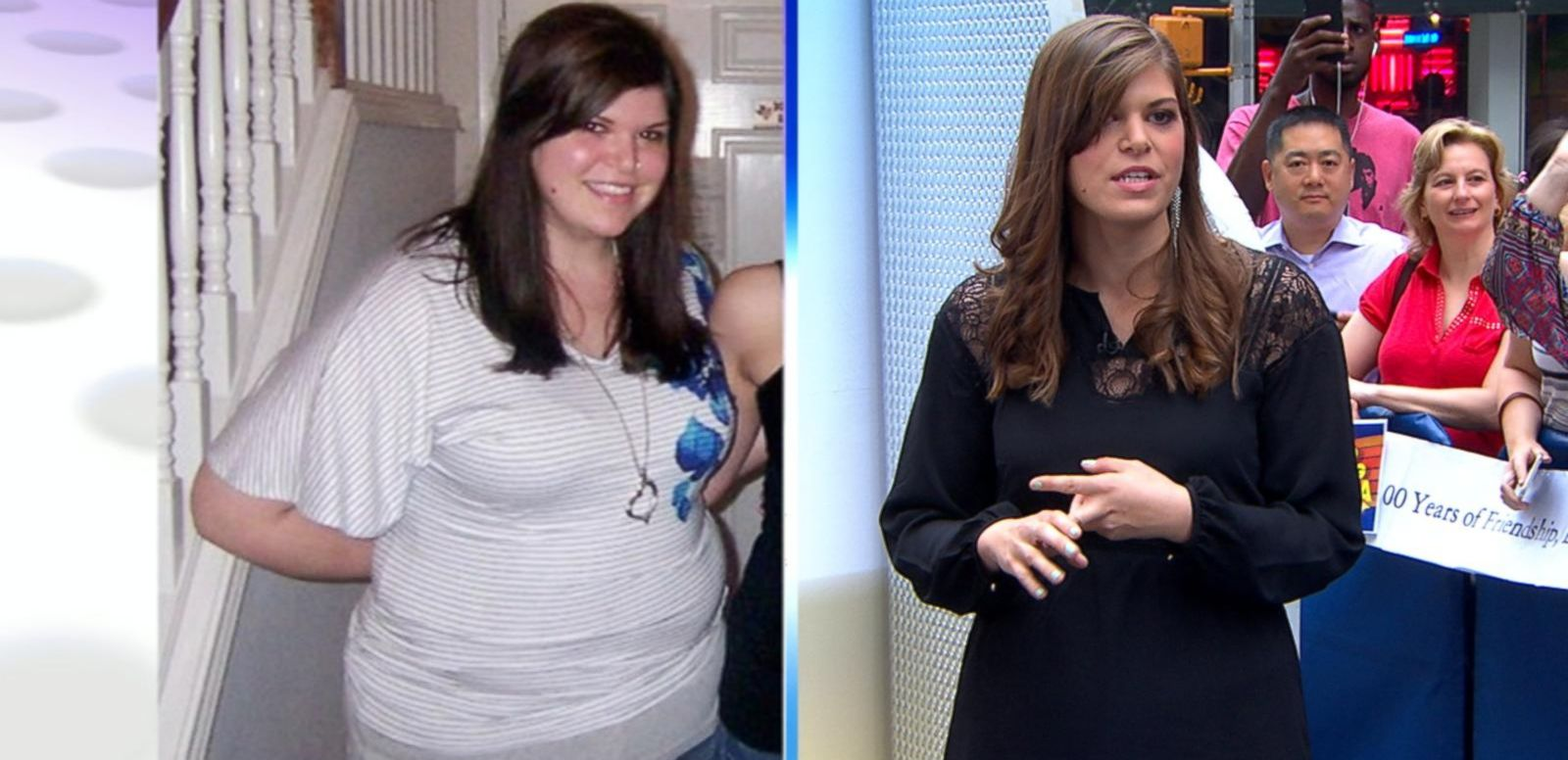 VIDEO: A Woman's Incredible Weight-Loss Story