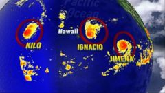 VIDEO: Hurricanes Develop In the Pacific and Atlantic Oceans