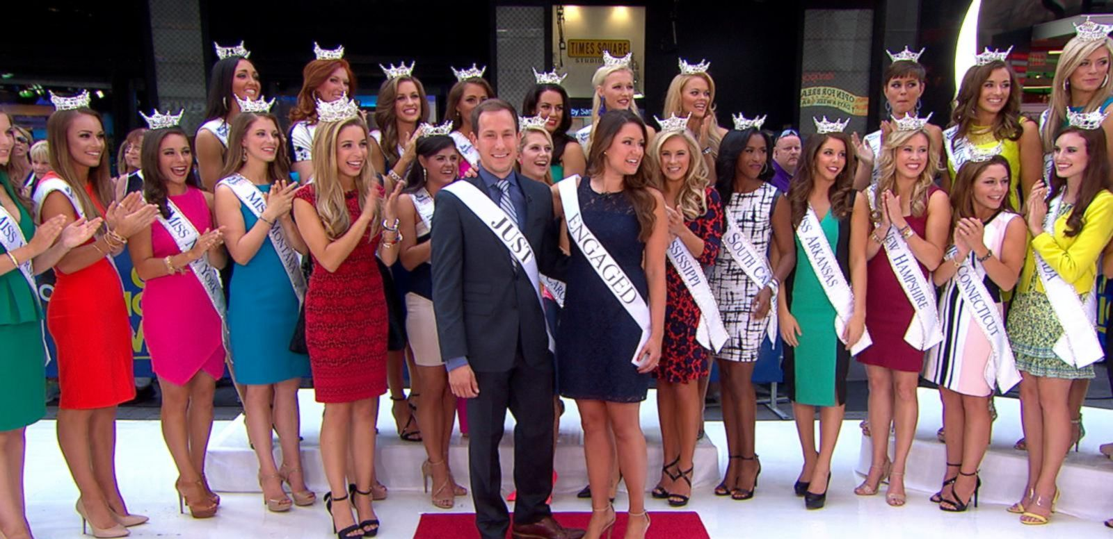 VIDEO: 52 Contestants of Miss America 2015