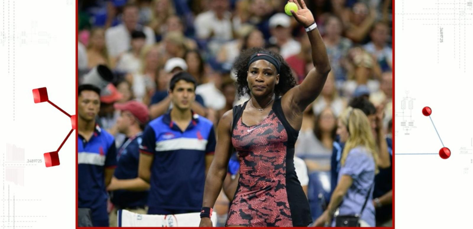 VIDEO: Star-Studded Affair at the U.S Open's Opening Ceremony