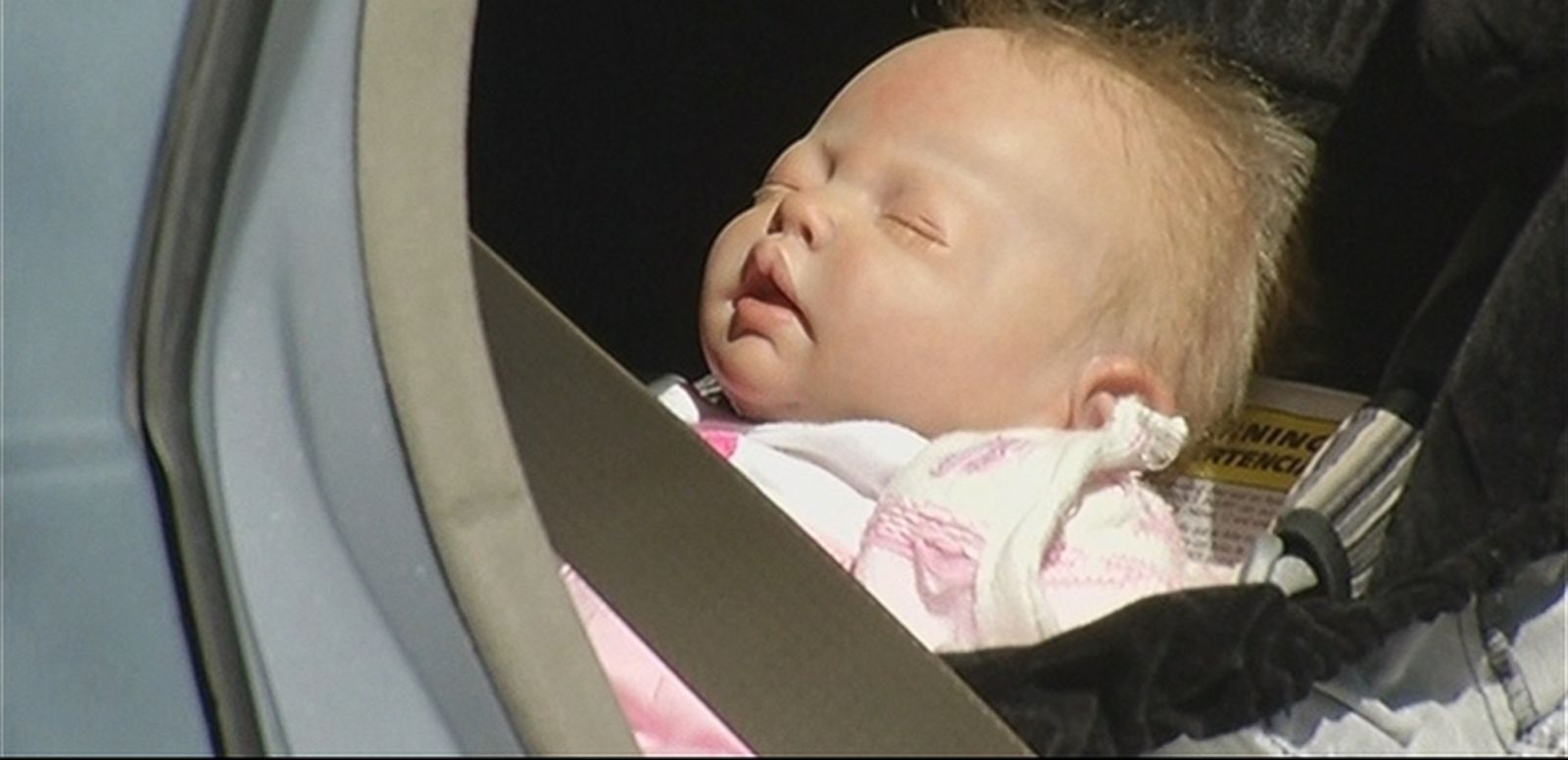 VIDEO: Authorities in Oakland, Calif., smashed the window of a car to save what was found to be a lifelike doll.