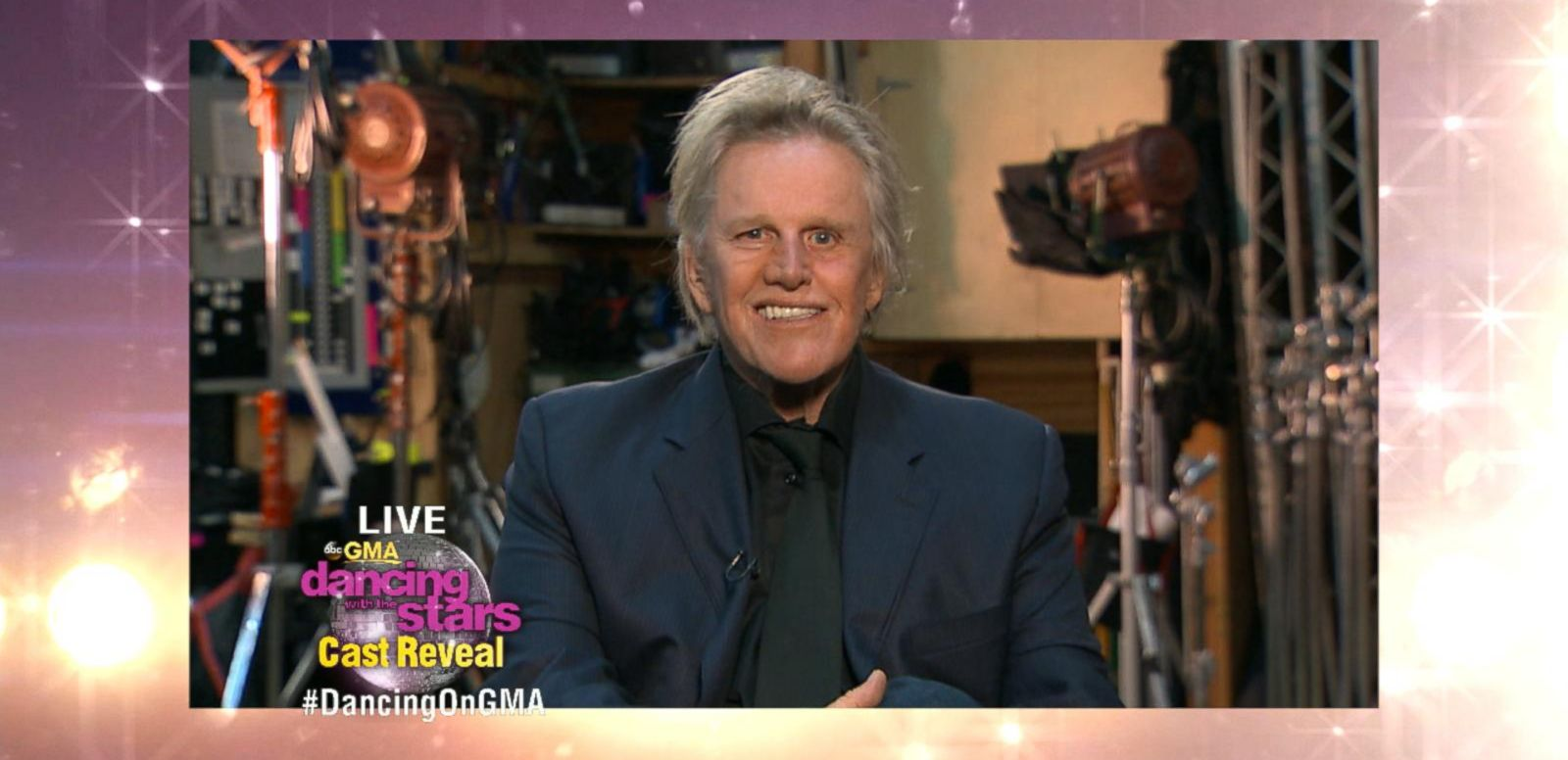 VIDEO: Gary Busey, Andy Grammer Send Messages to 'Dancing' Cast