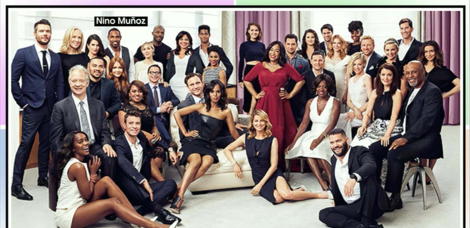 VIDEO: Shondaland Stars Pose for Epic Group Photo