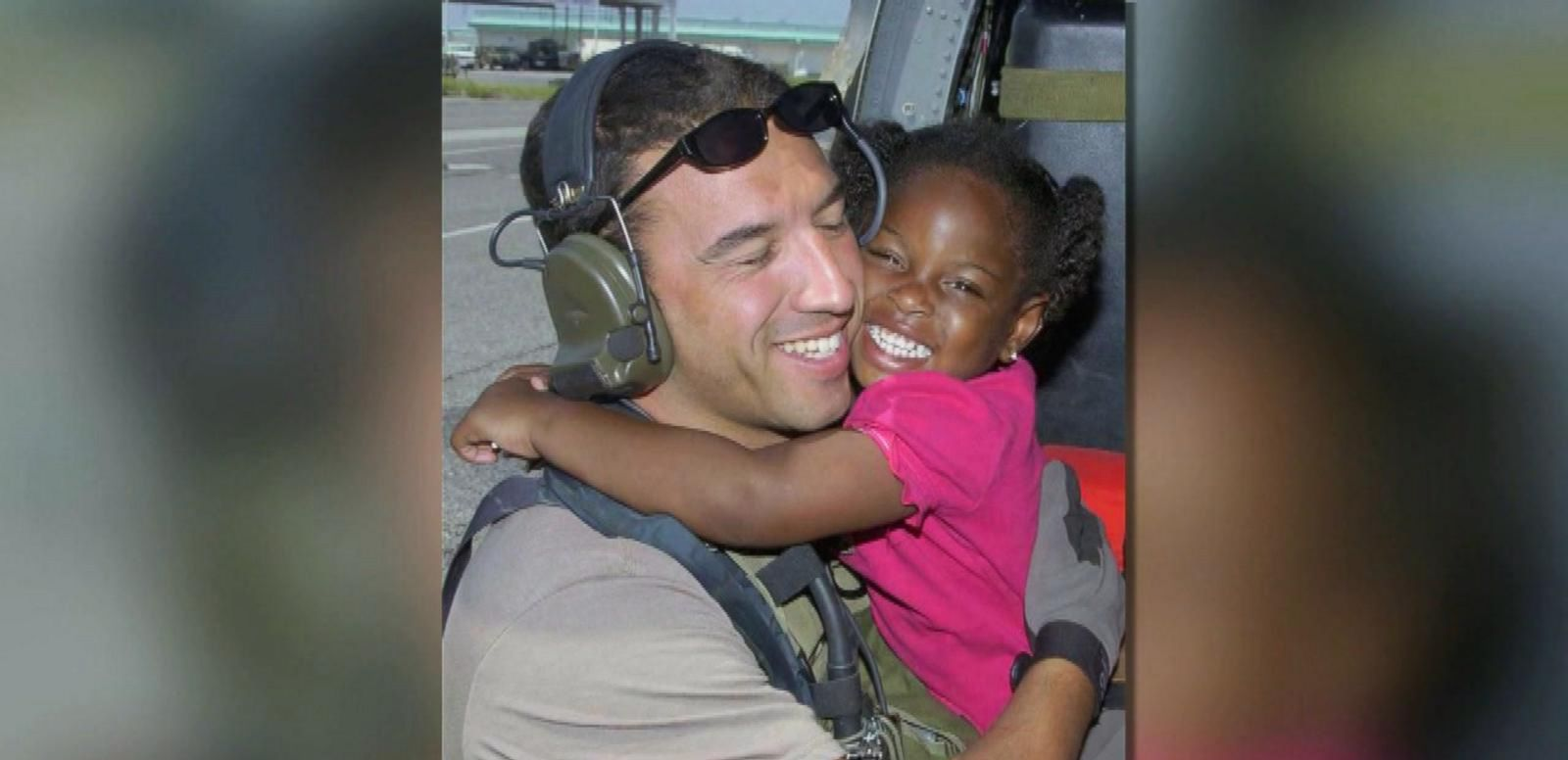 VIDEO: Master Sgt. Michael Maroney started a social media campaign to reconnect with the 3-year-old girl he was photographed rescuing in 2005.