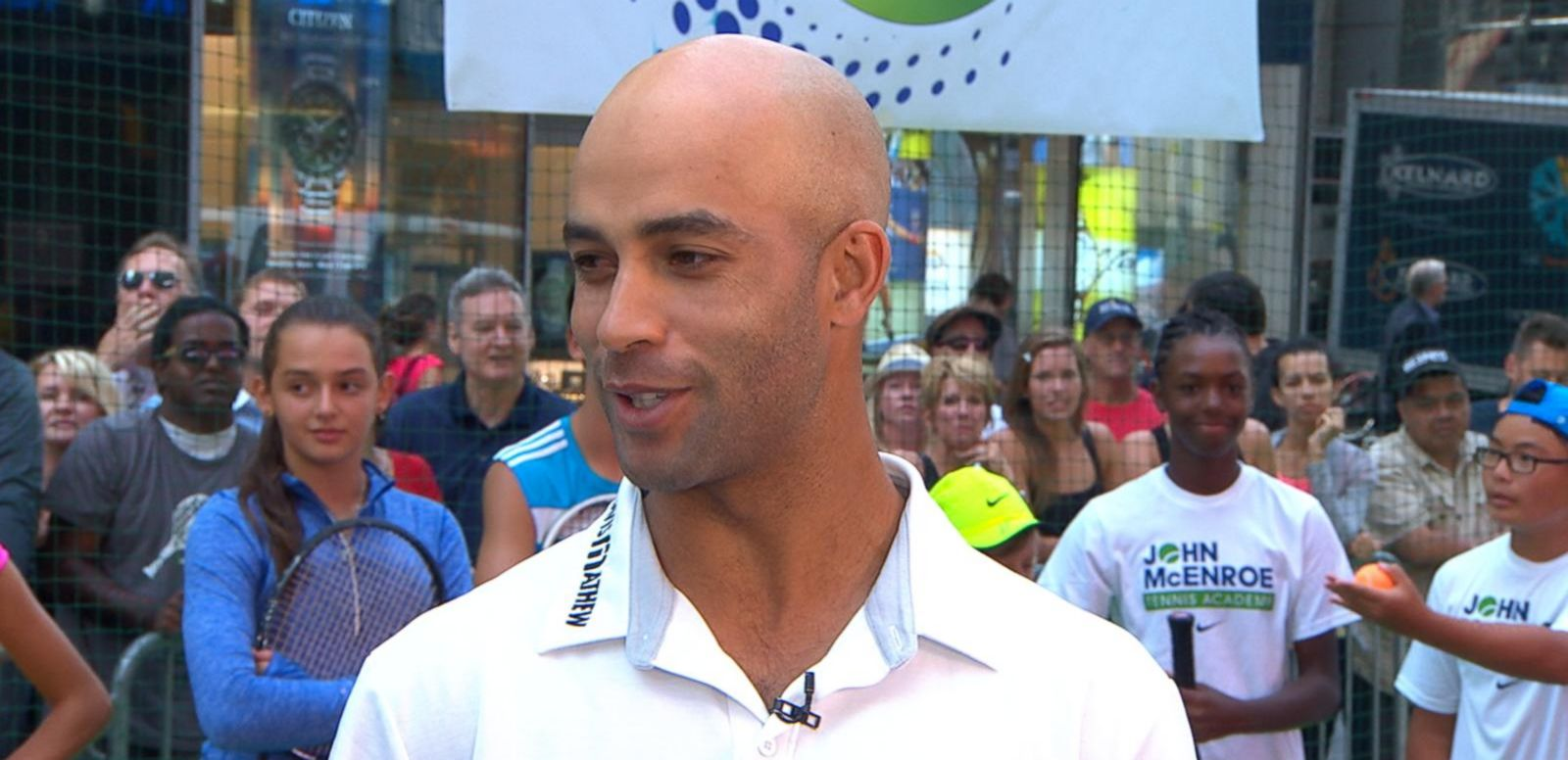 VIDEO: James Blake Talks US Open, Why He's Running His First Marathon