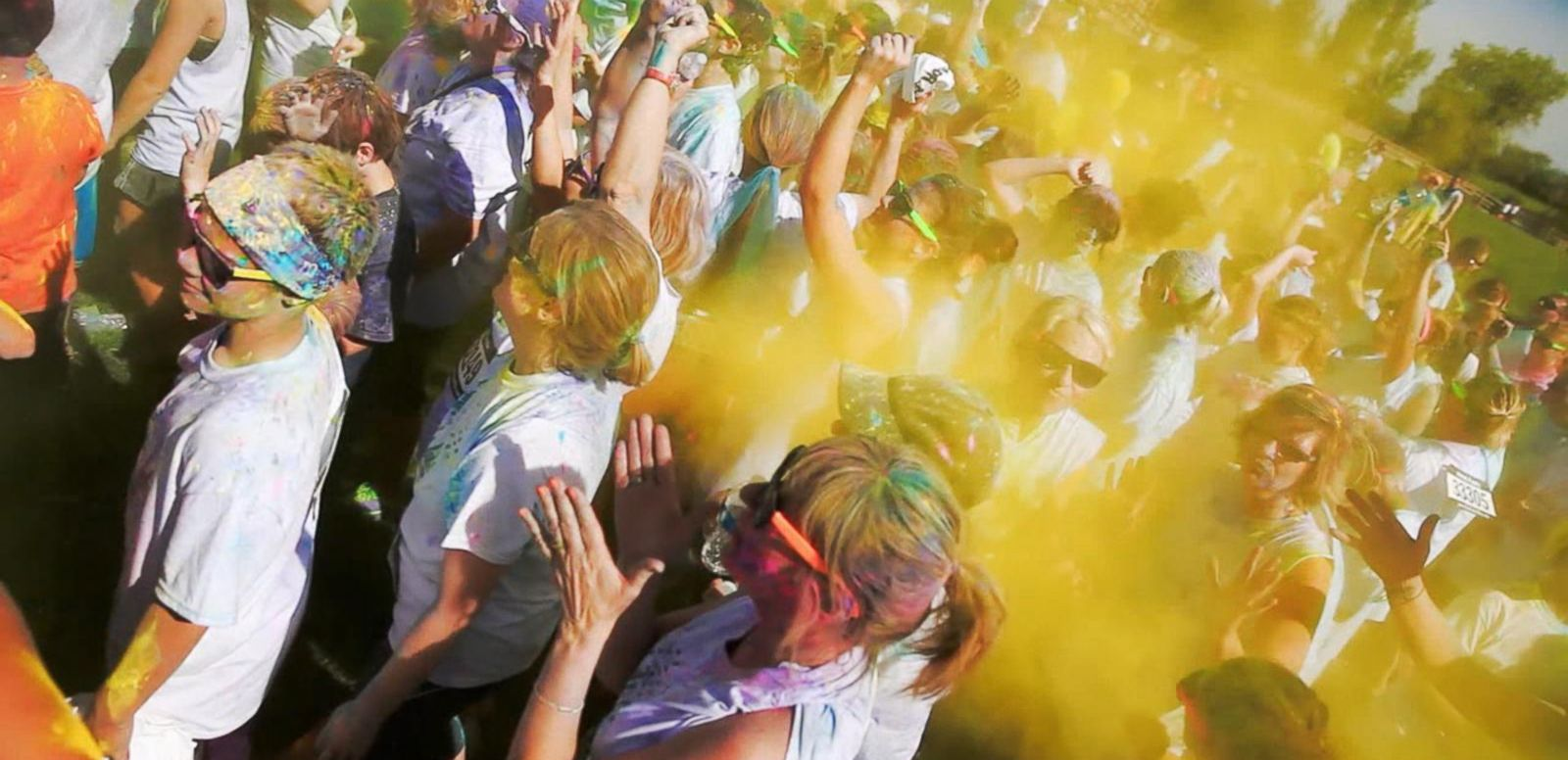 VIDEO: The Color Vibe 5K Heads to Central Park