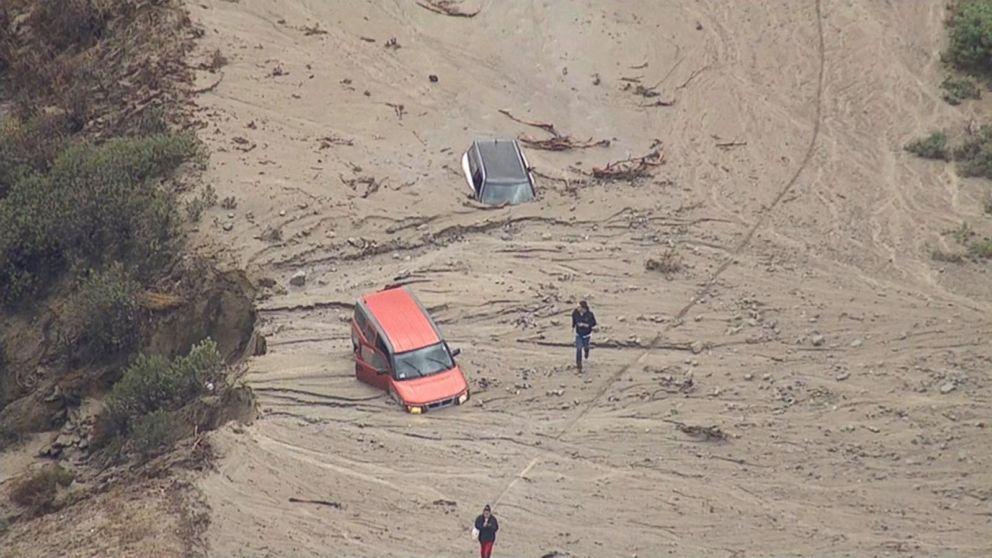 Video: Heavy Rain Causes Mudslides Across Southern California