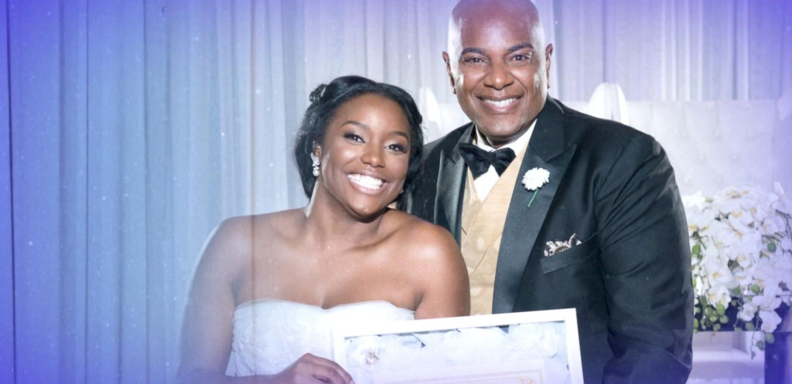VIDEO: Bride Surprises Pastor Father With Purity Certificate