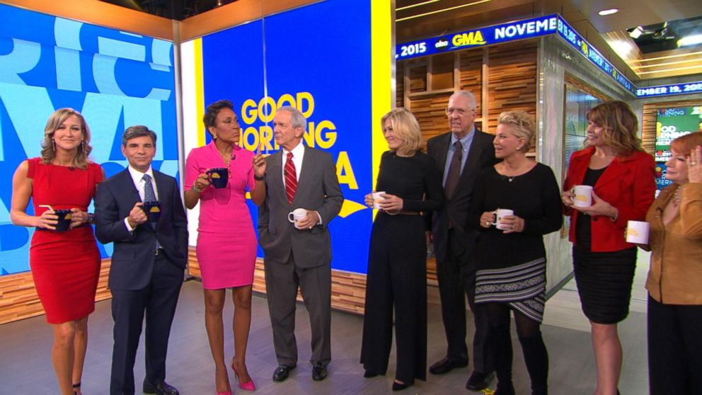 Good Morning America Live Today : Gma th anniversary anchors reunite video abc news