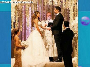 WATCH:  Sofia Vergara, Joe Manganiello Wedding Photos Emerge