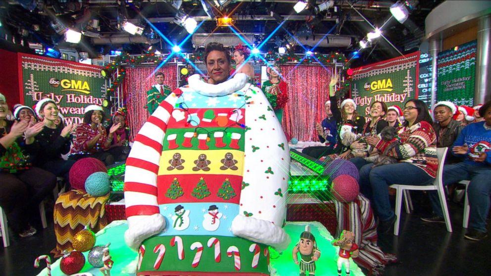 GMA' Ugly Holiday Sweater Showdown Winner Revealed Video - ABC News