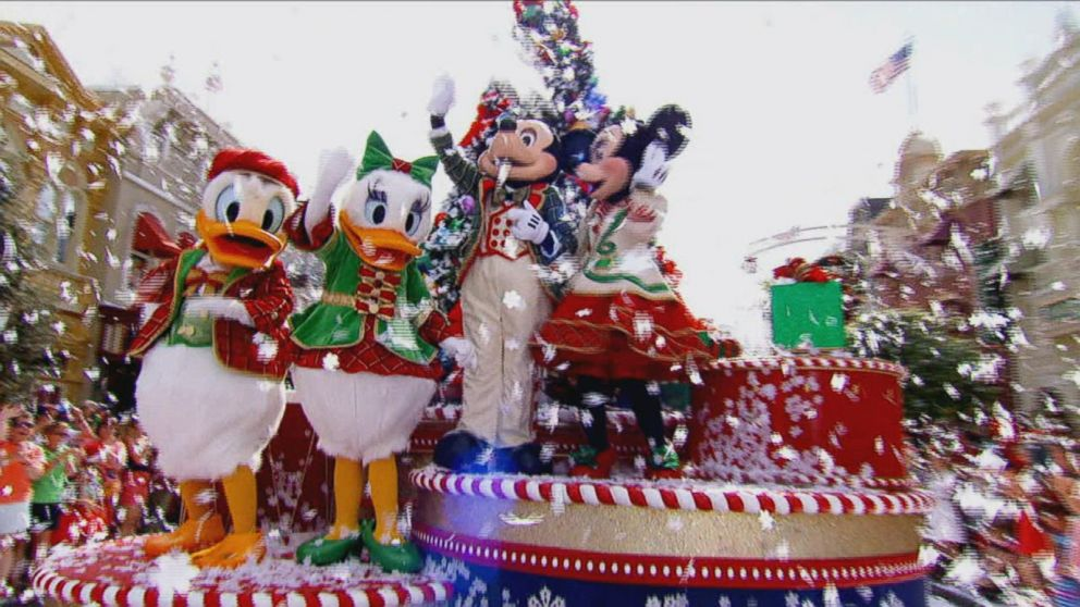 Inside the Annual Walt Disney World Christmas Parade Video - ABC News
