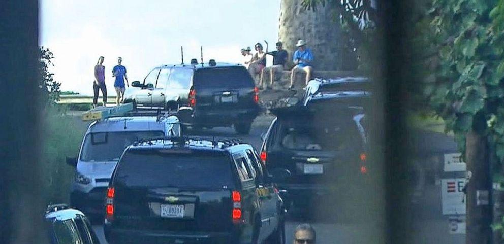 VIDEO: Obamas Motorcade Has Close Encounter With Drone