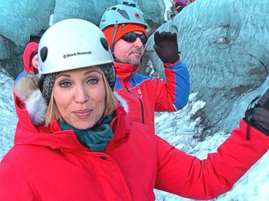 VIDEO: GMA Into the Ice: Amy Robachs Ice Climbing Adventure