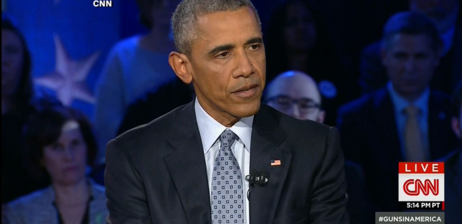 VIDEO: President Obama participated in a town hall meeting at George Mason University in an attempt to explain a new wave of executive actions his administration is taking to curb gun violence.