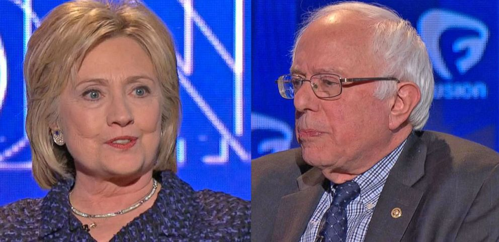 VIDEO: Hillary Clinton and Bernie Sanders Face Off at Forum