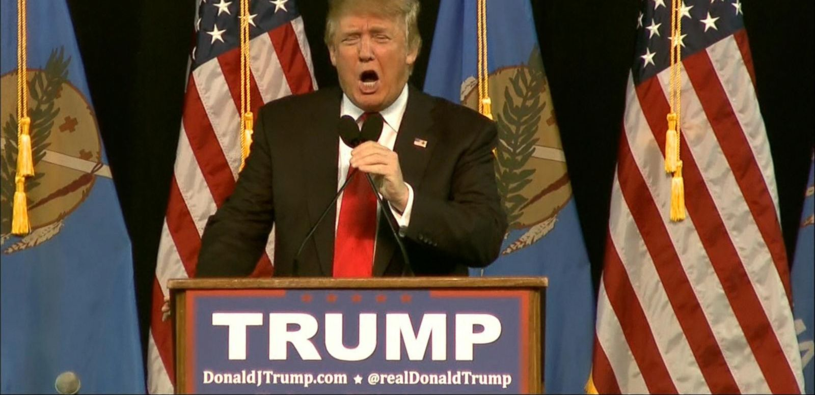 VIDEO: Donald Trump and Sarah Palin Hit the Campaign Trail