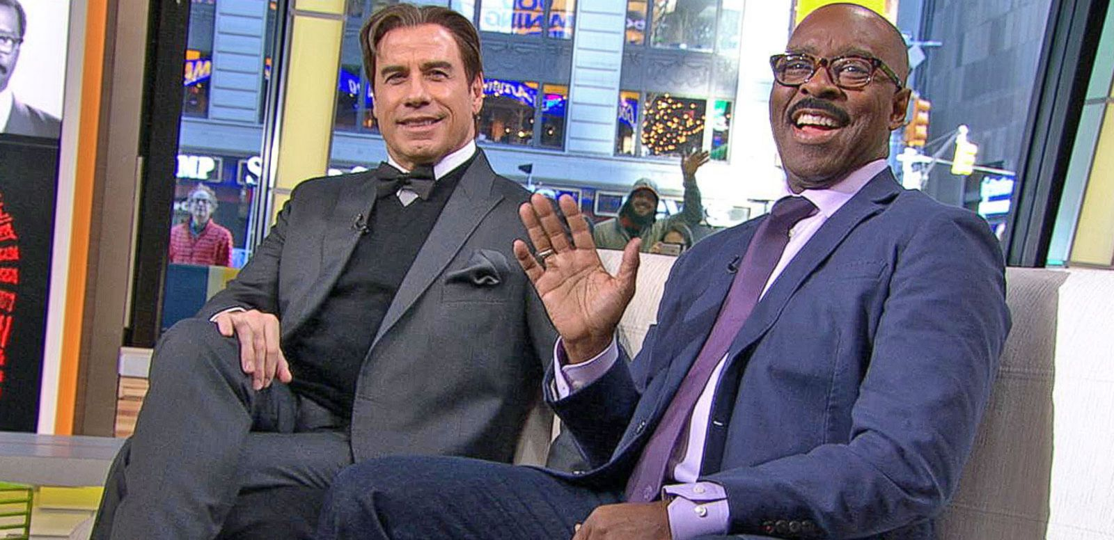 VIDEO: John Travolta, Courtney B. Vance Discuss The People v. O.J. Simpson