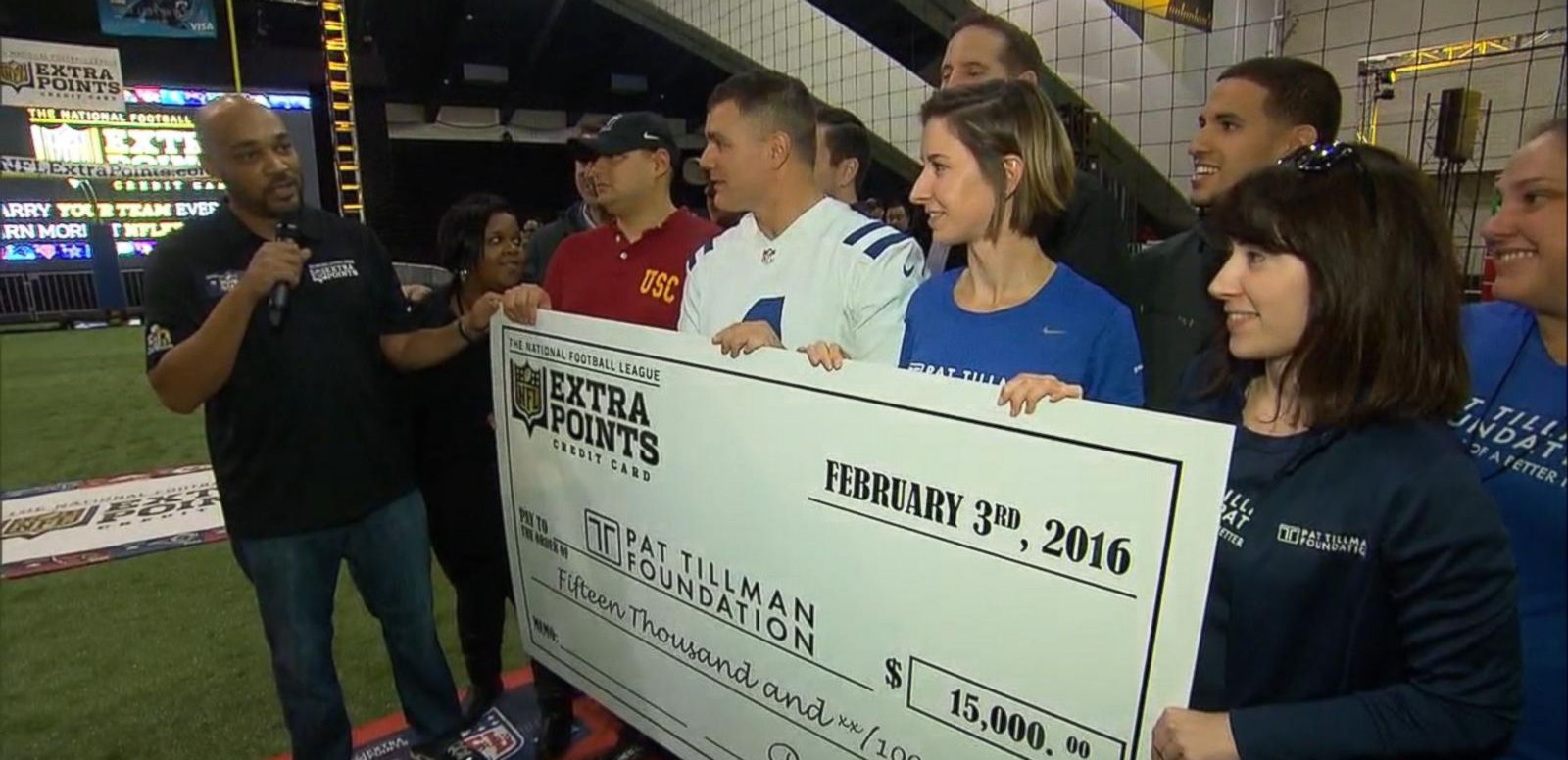 VIDEO: Inspirational Veteran Wins Super Bowl Surprise of a Lifetime