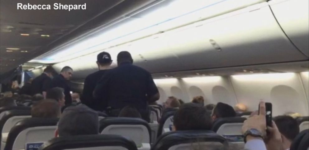 "VIDEO: Passengers aboard the Alaska Airlines flight say that a man was yelling, ""Were going to die."""