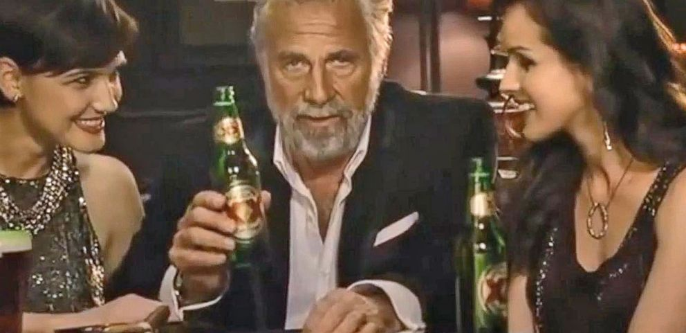 VIDEO: Dos Equis Pitchman in Legal Battle With Ex-Manager