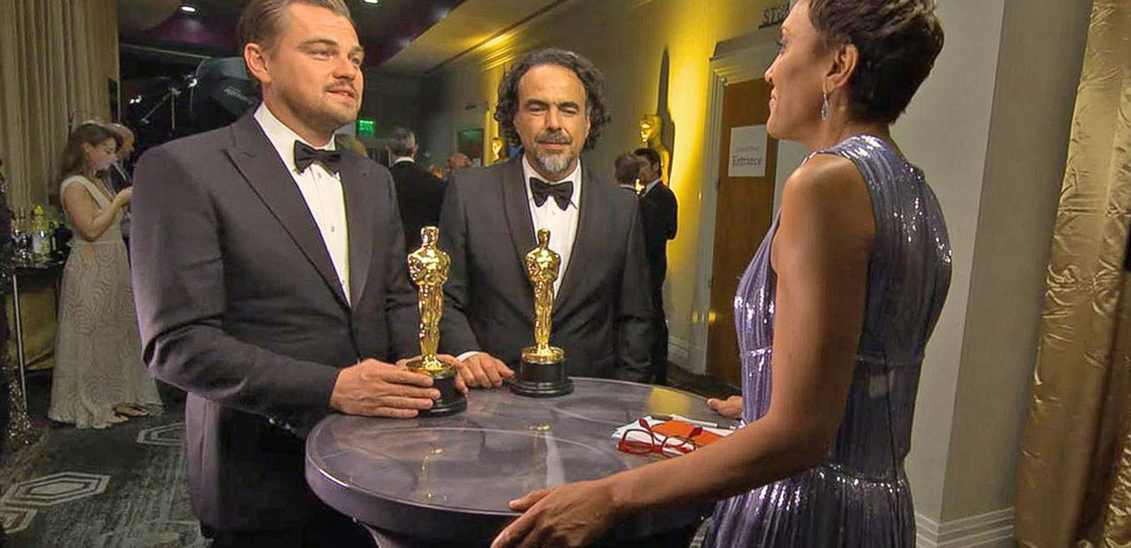 VIDEO: 2016 Oscars: Leonardo DiCaprio and More Stars Dish on Oscar Wins