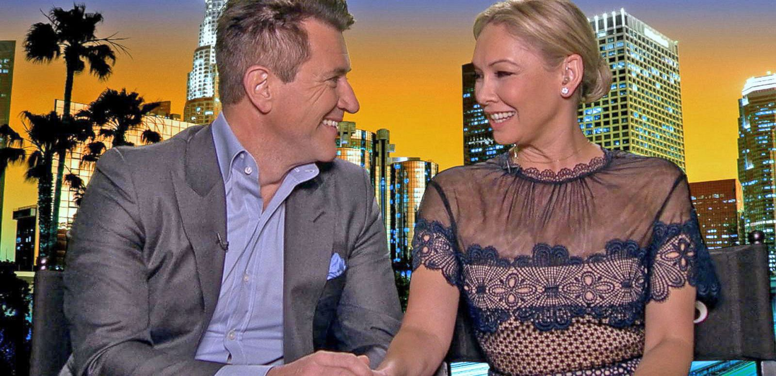 VIDEO: Exclusive: Kym Johnson and Robert Herjavec Share Engagement Details