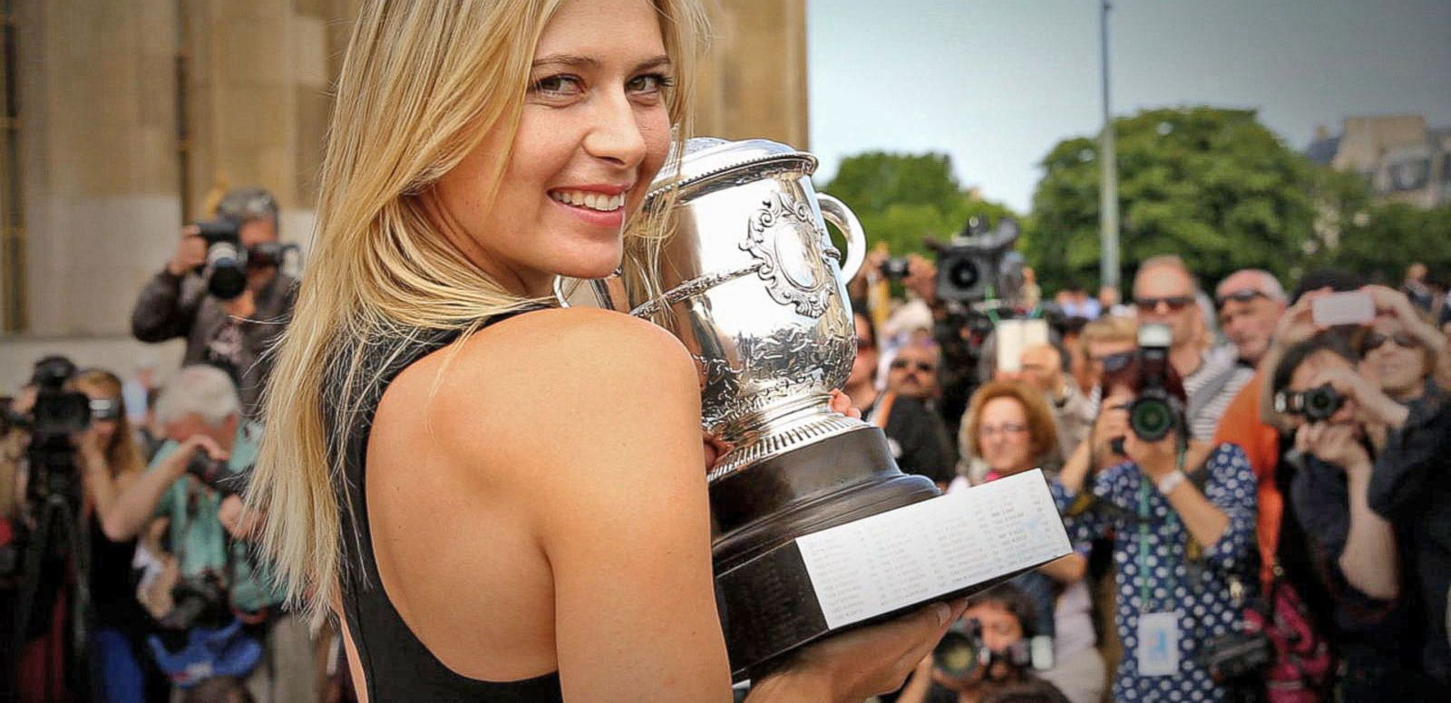 VIDEO: Maria Sharapova Admits Failing Drug Test