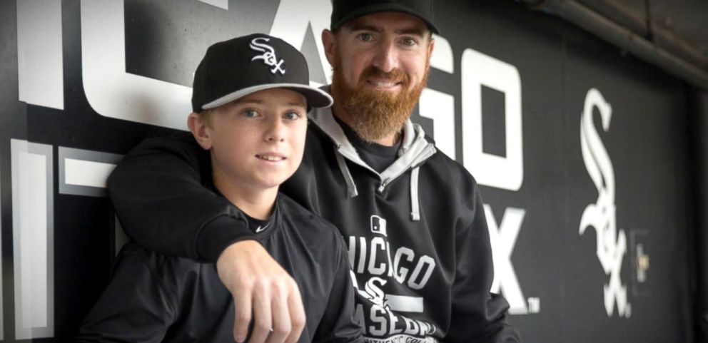 VIDEO: White Sox Star Adam Laroche Resigns for Son