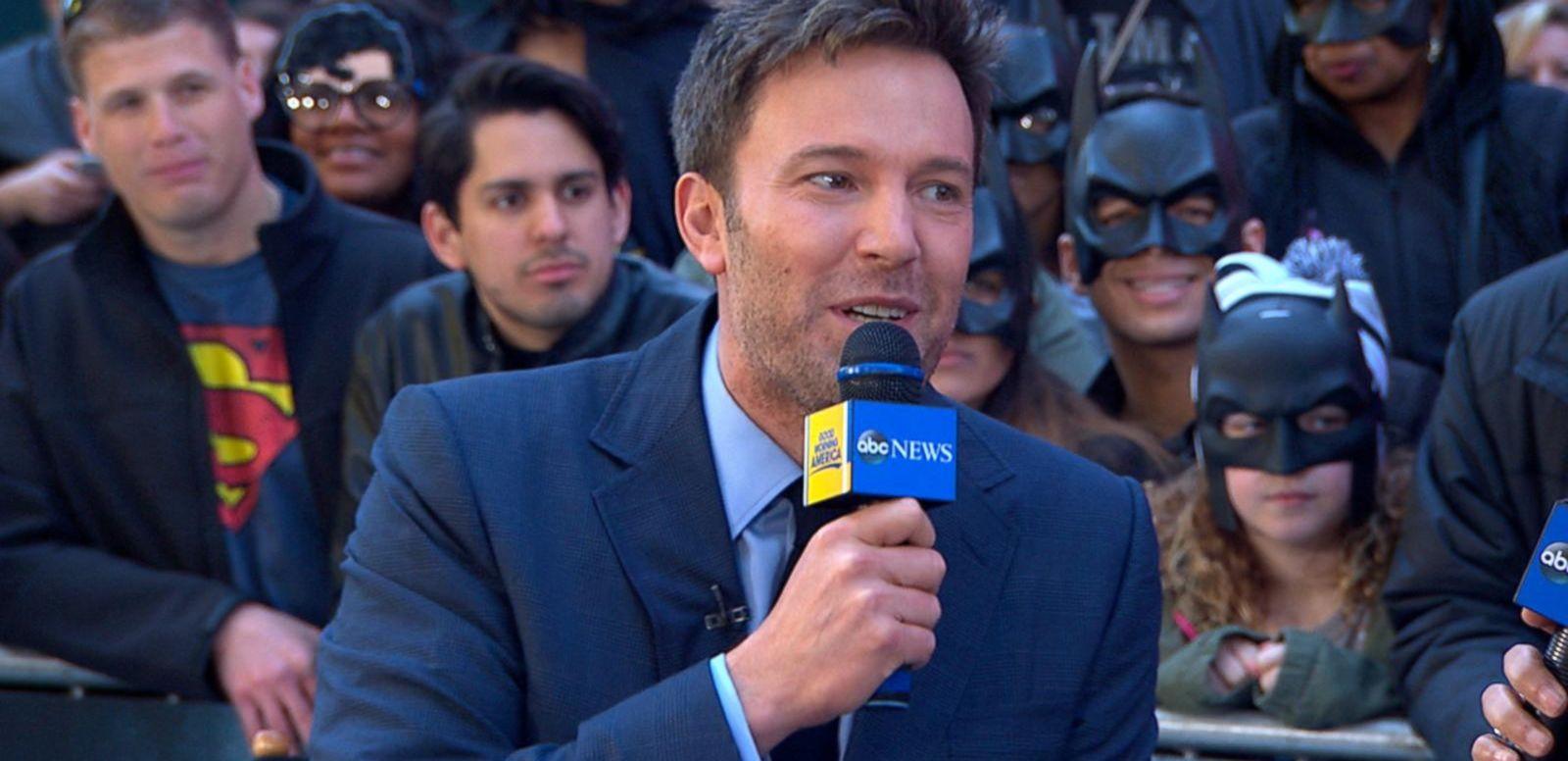 VIDEO: Batman v Superman Star Ben Affleck Gets Personal
