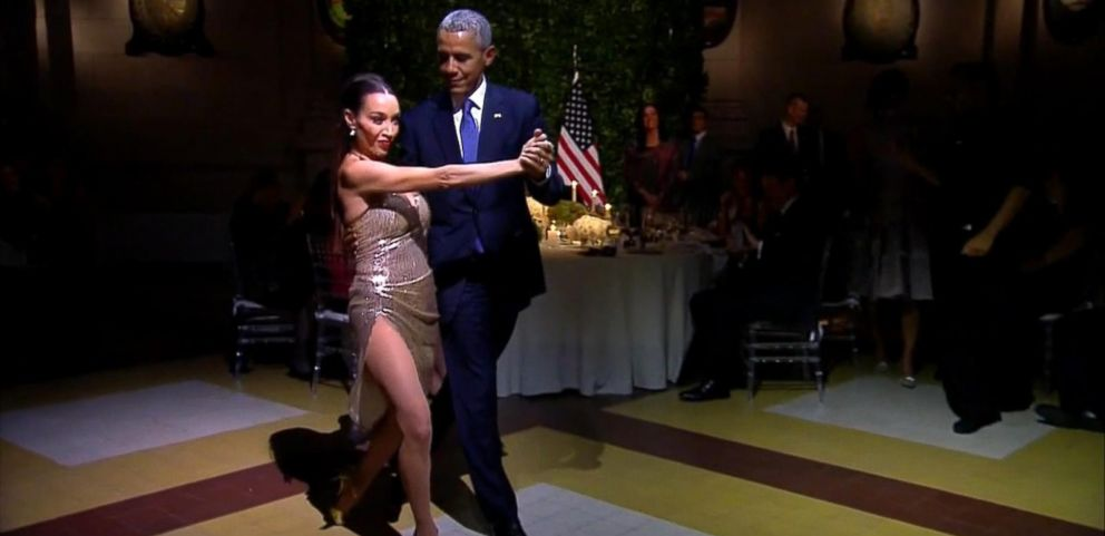 VIDEO: President Obama Dances the Tango in Argentina