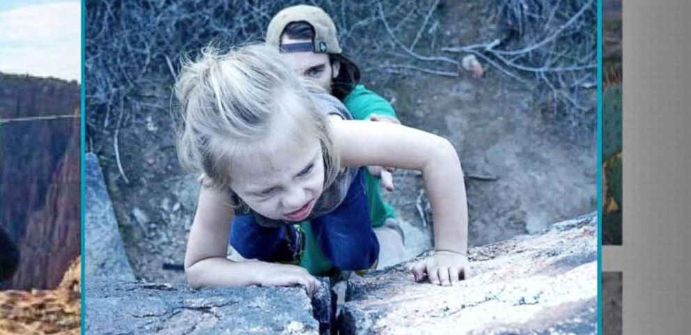 VIDEO: Amazing Toddler Showcases Rock Climbing Skills