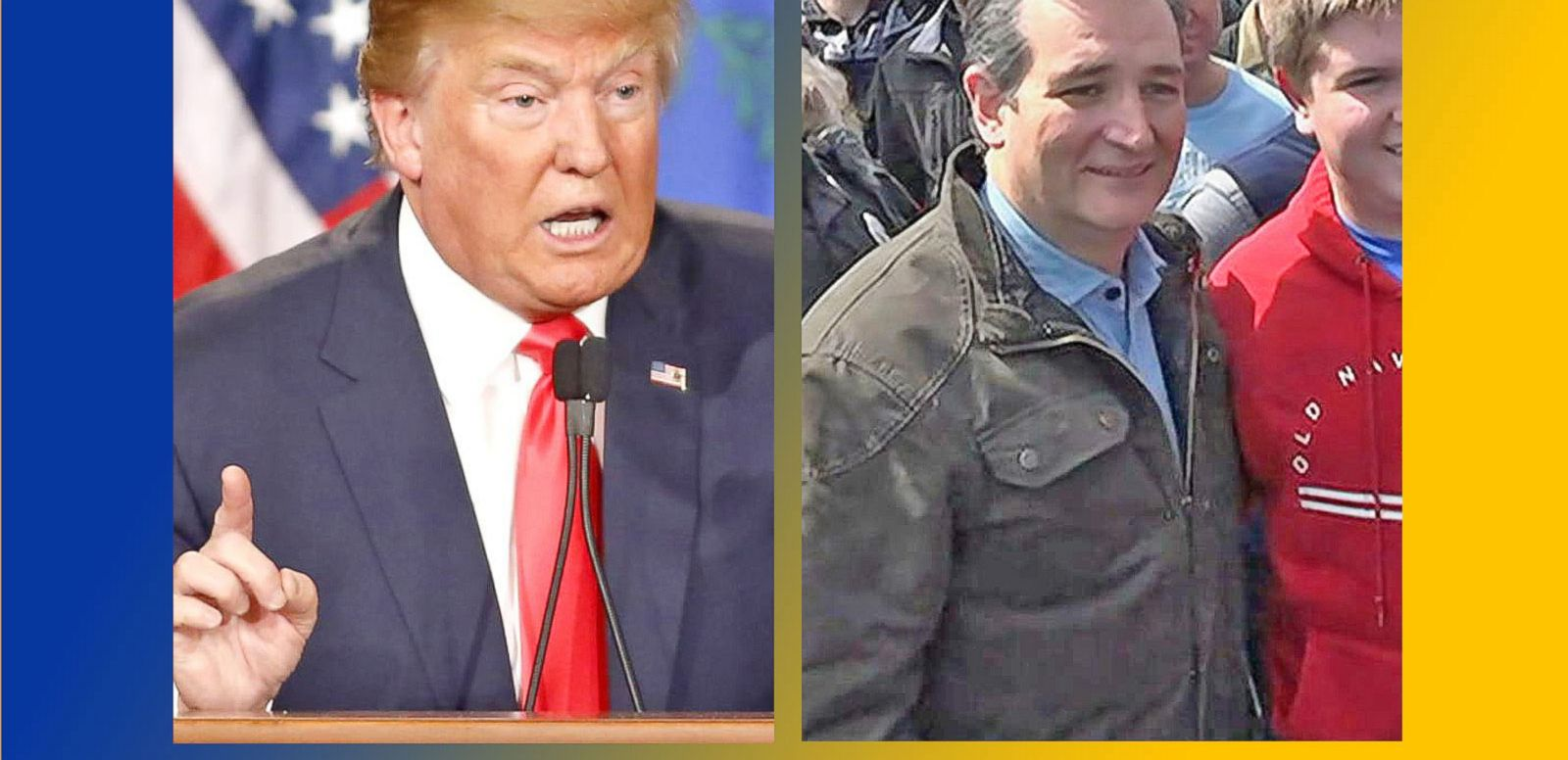 VIDEO: Donald Trump, Ted Cruz Battle for Votes in Wisconsin
